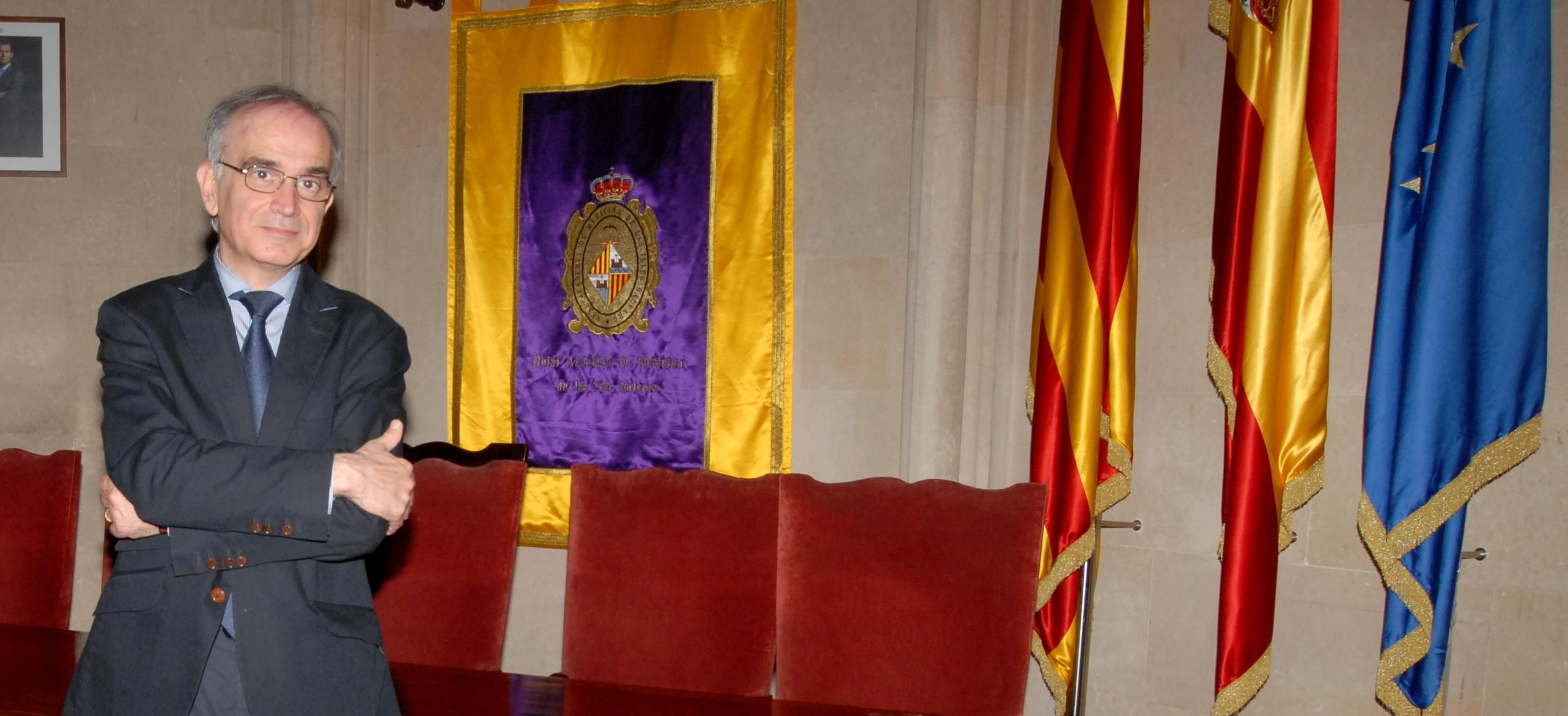 Macià Tomàs Salvà, presidente de la Real Academia de Medicina de les Illes Balears